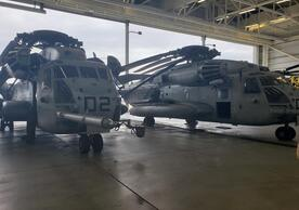 Two CH-53 Super Stallions